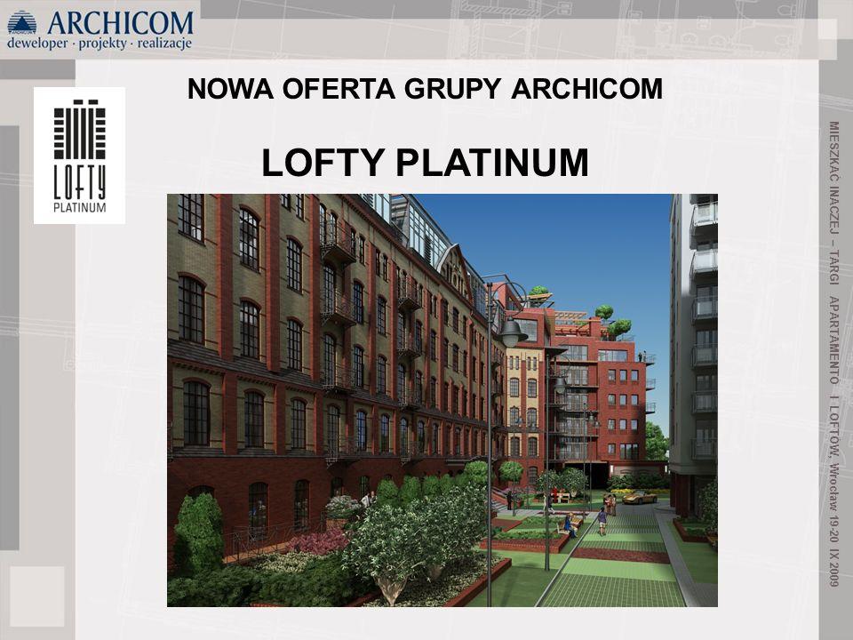 LOFTY PLATINUM NOWA OFERTA GRUPY ARCHICOM