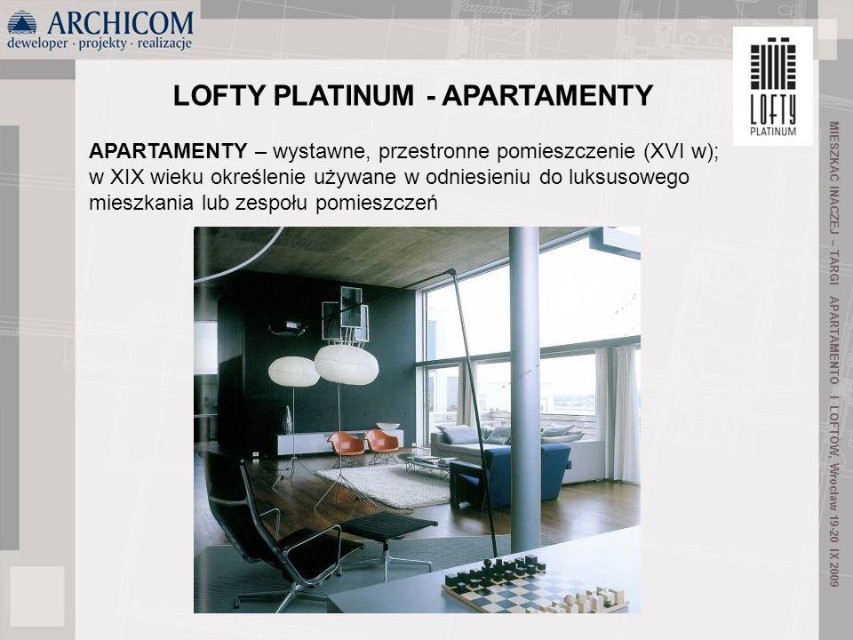 LOFTY PLATINUM - APARTAMENTY