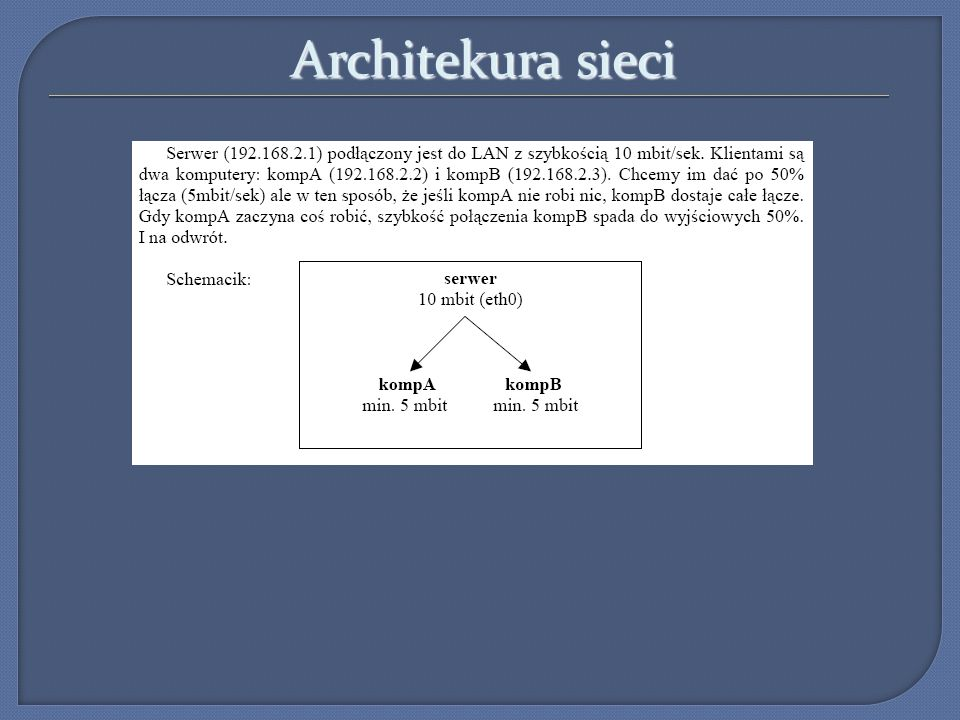 Architekura sieci 5