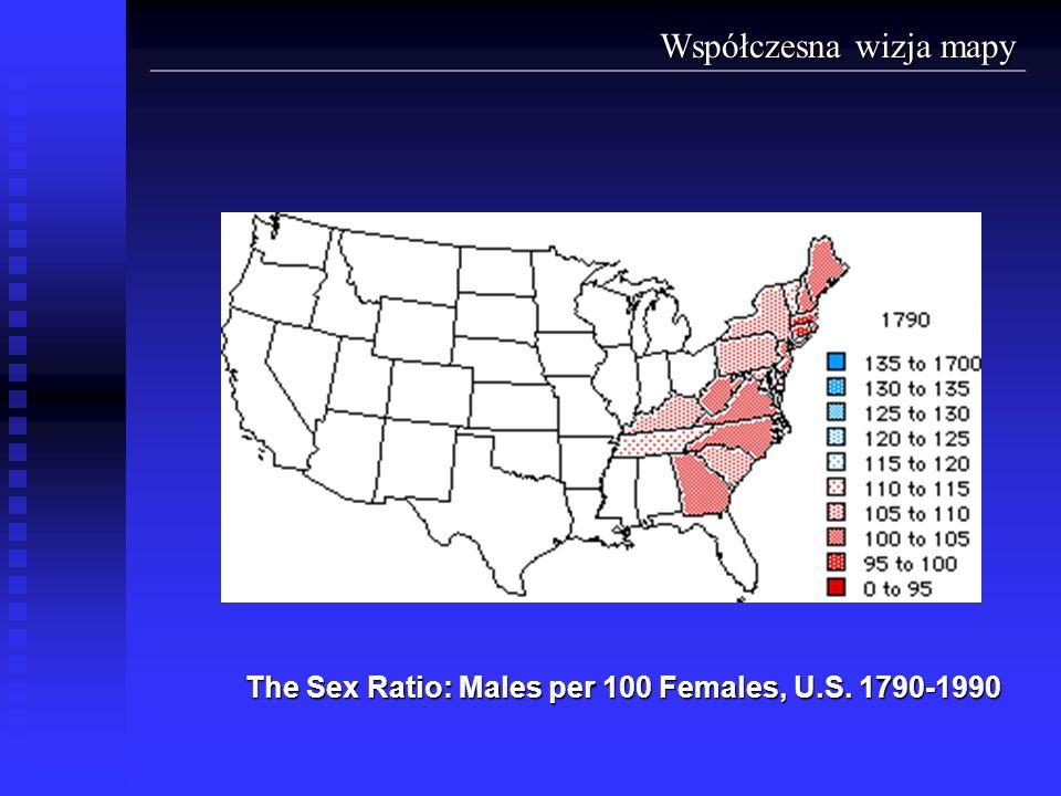 The Sex Ratio: Males per 100 Females, U.S. 1790-1990