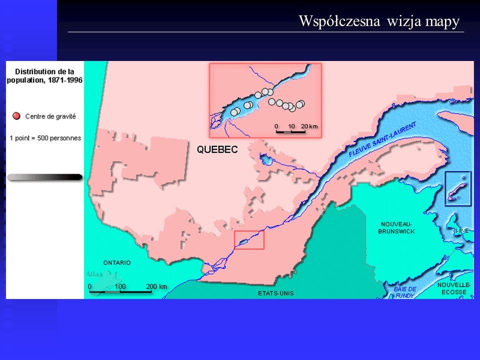 Współczesna wizja mapy