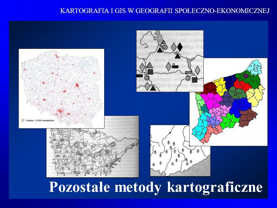 Pozostałe metody kartograficzne