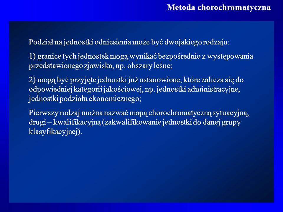 Metoda chorochromatyczna