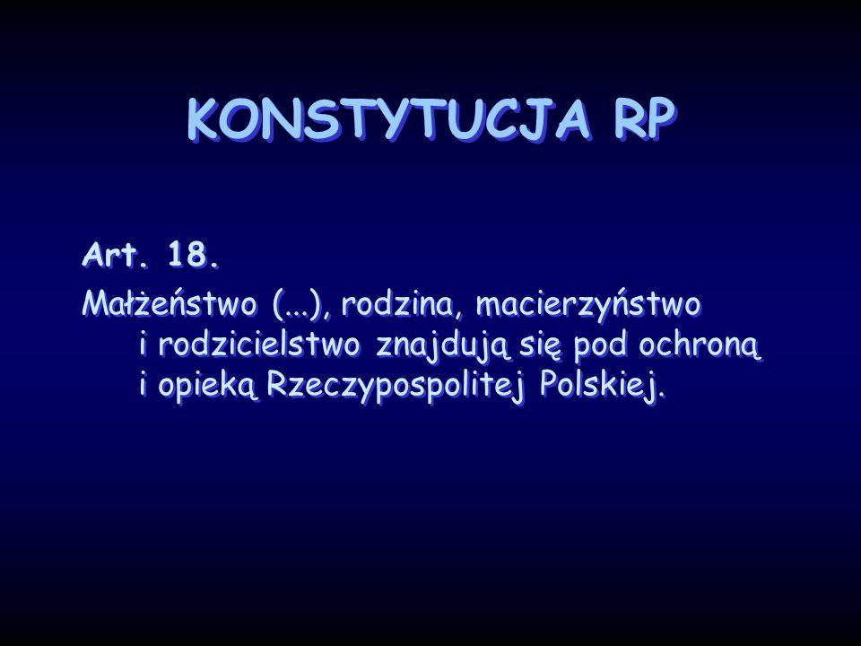 KONSTYTUCJA RP Art. 18.