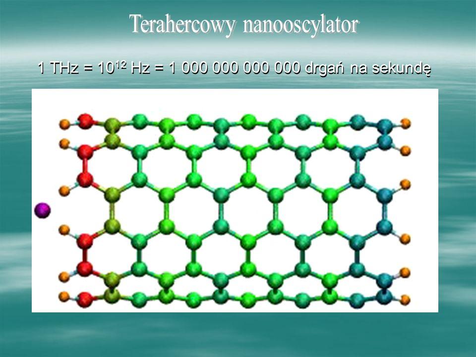Terahercowy nanooscylator