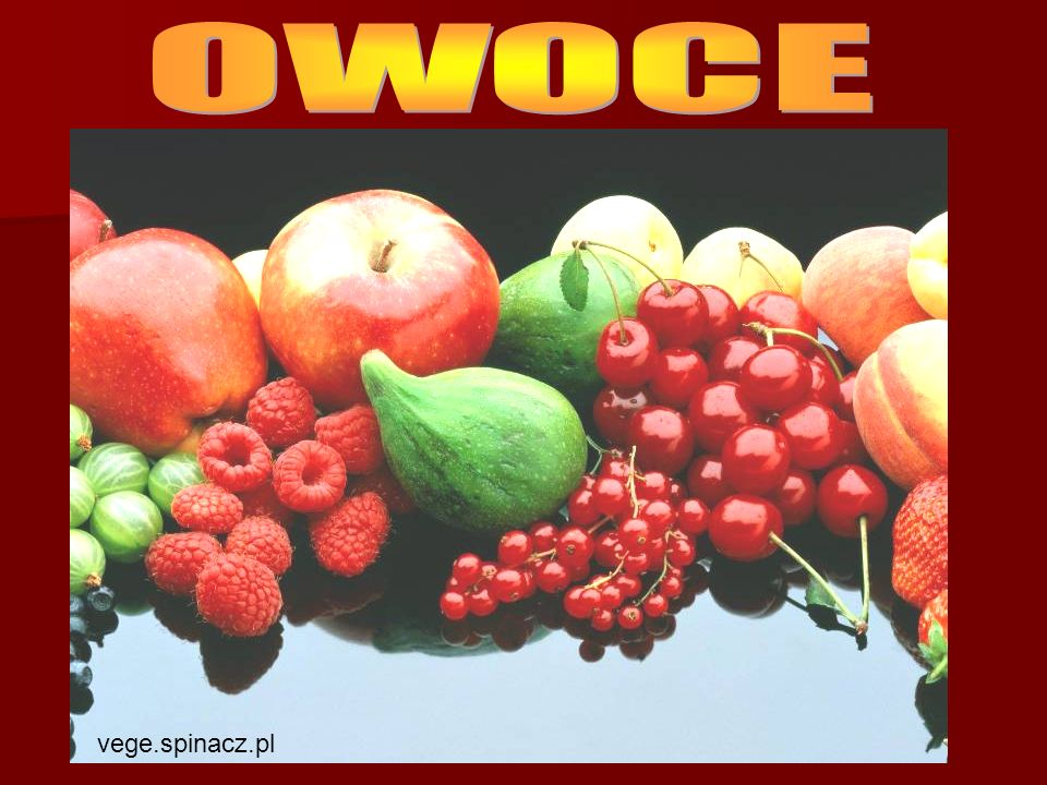 OWOCE vege.spinacz.pl