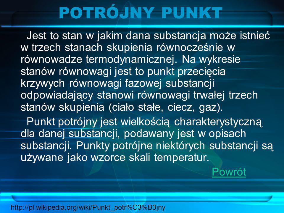 POTRÓJNY PUNKT