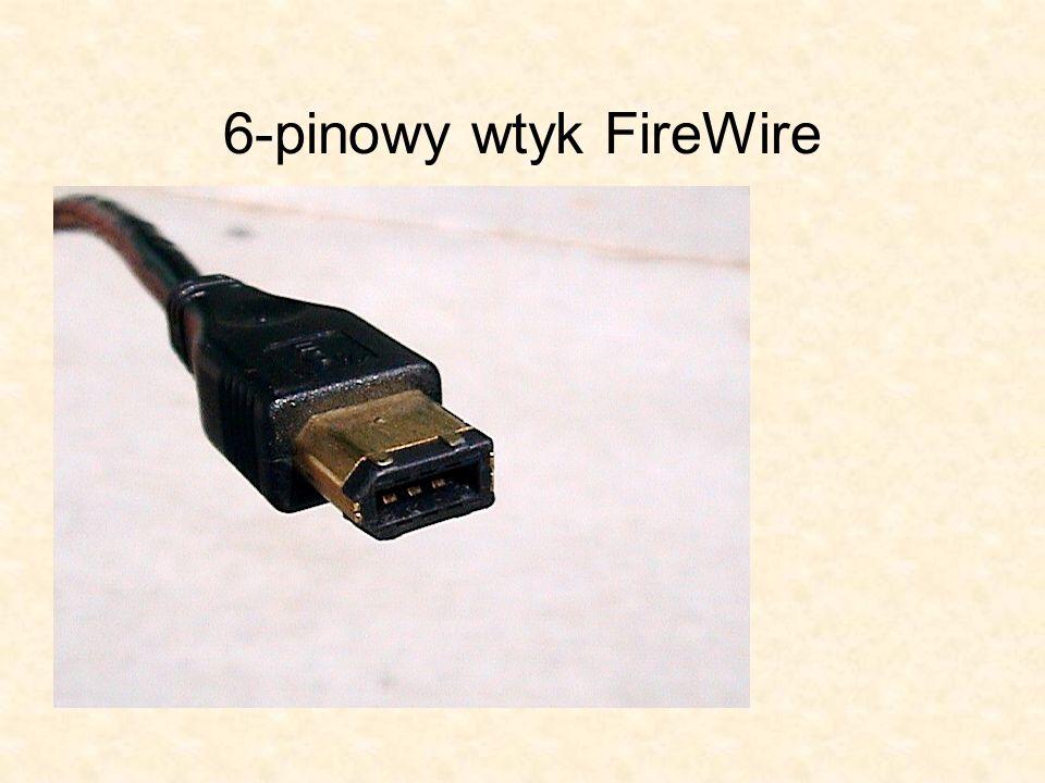 6-pinowy wtyk FireWire