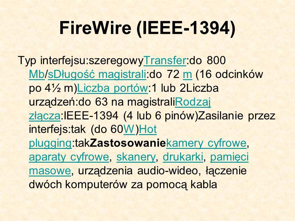 FireWire (IEEE-1394)