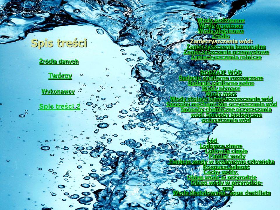 Wody stojące Samooczyszczanie wód