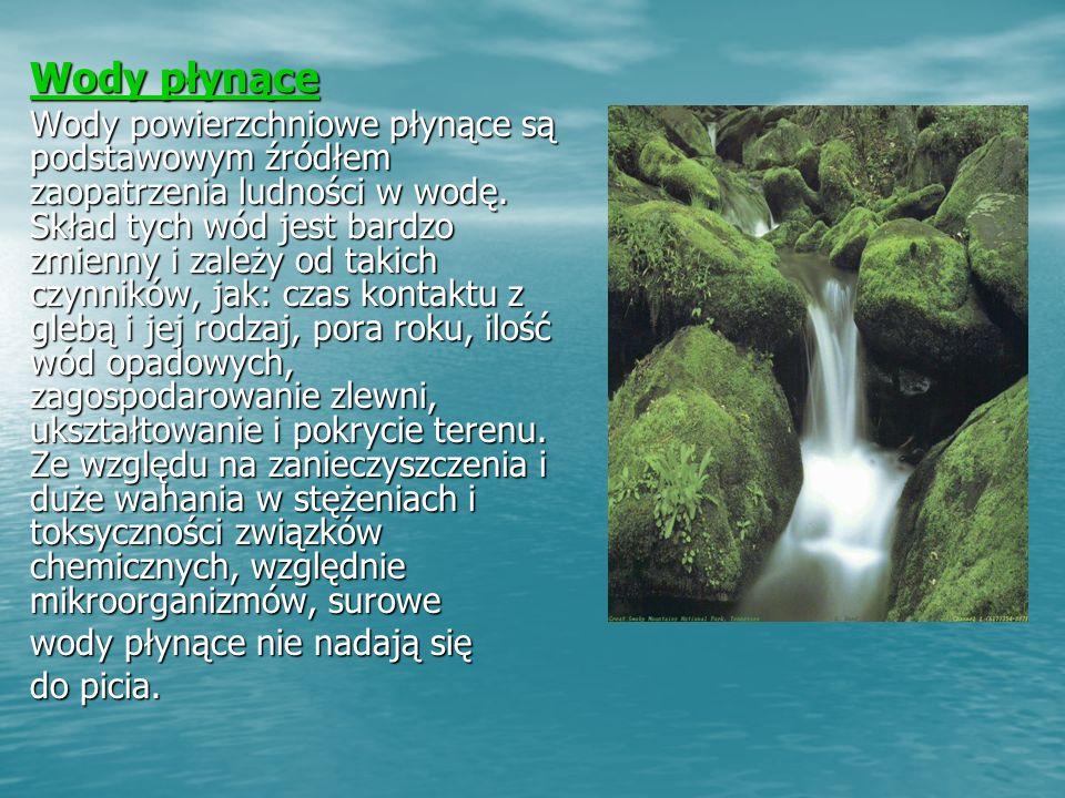 Wody płynące