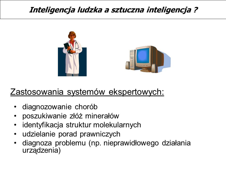 Inteligencja ludzka a sztuczna inteligencja