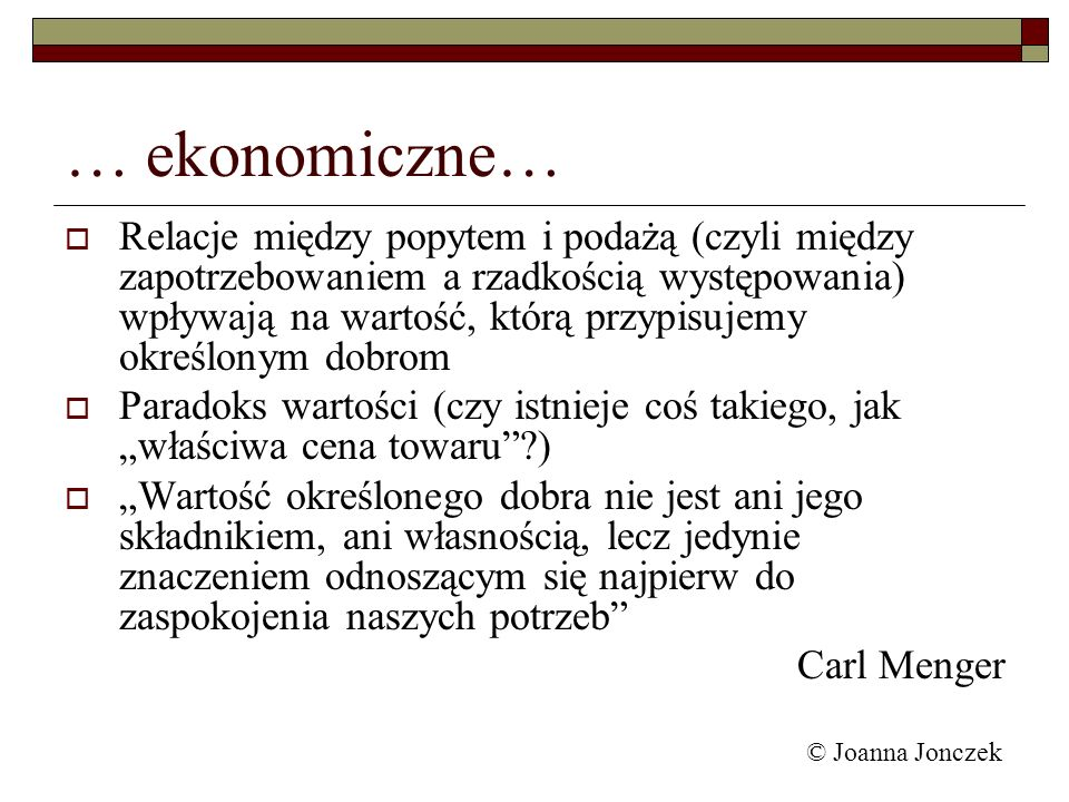 … ekonomiczne…