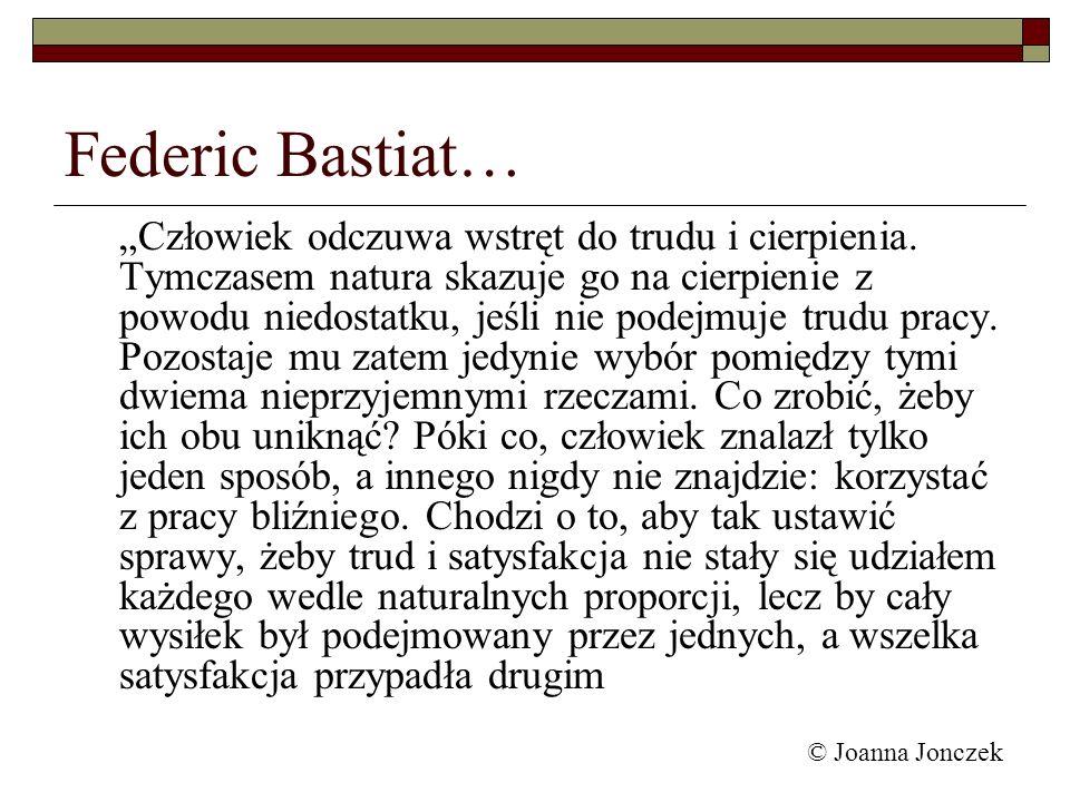 Federic Bastiat…