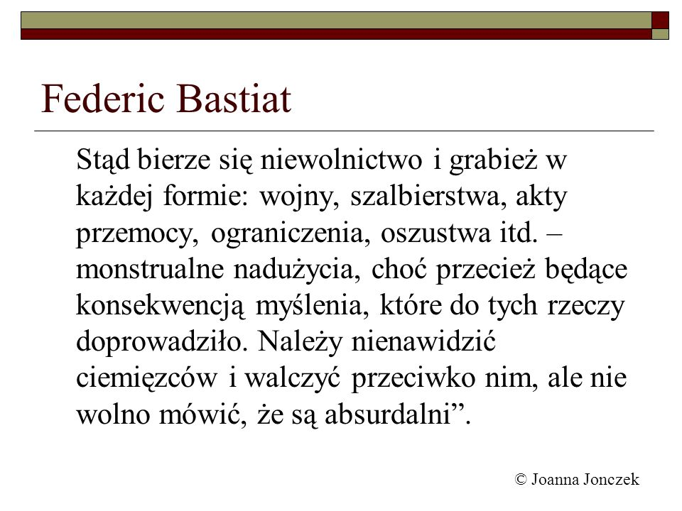 Federic Bastiat