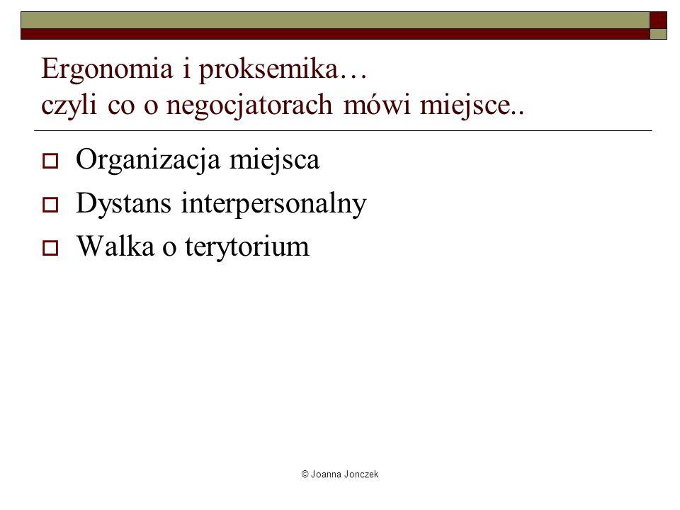 Ergonomia i proksemika… czyli co o negocjatorach mówi miejsce..
