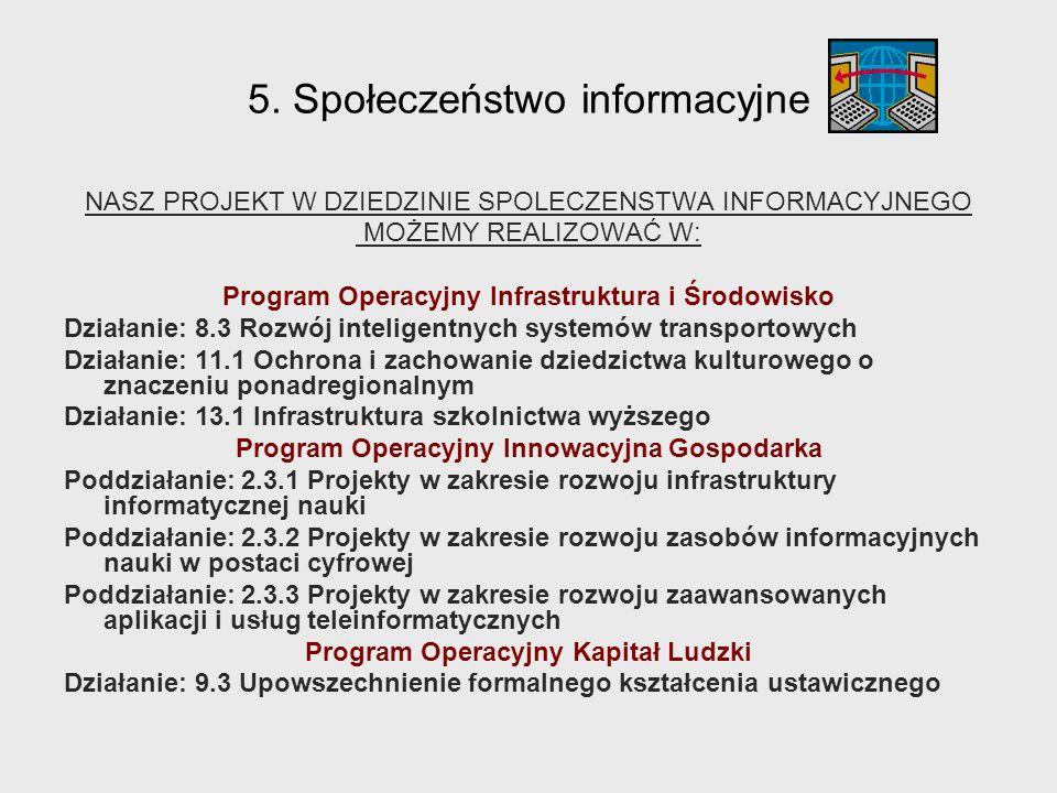 5. Społeczeństwo informacyjne
