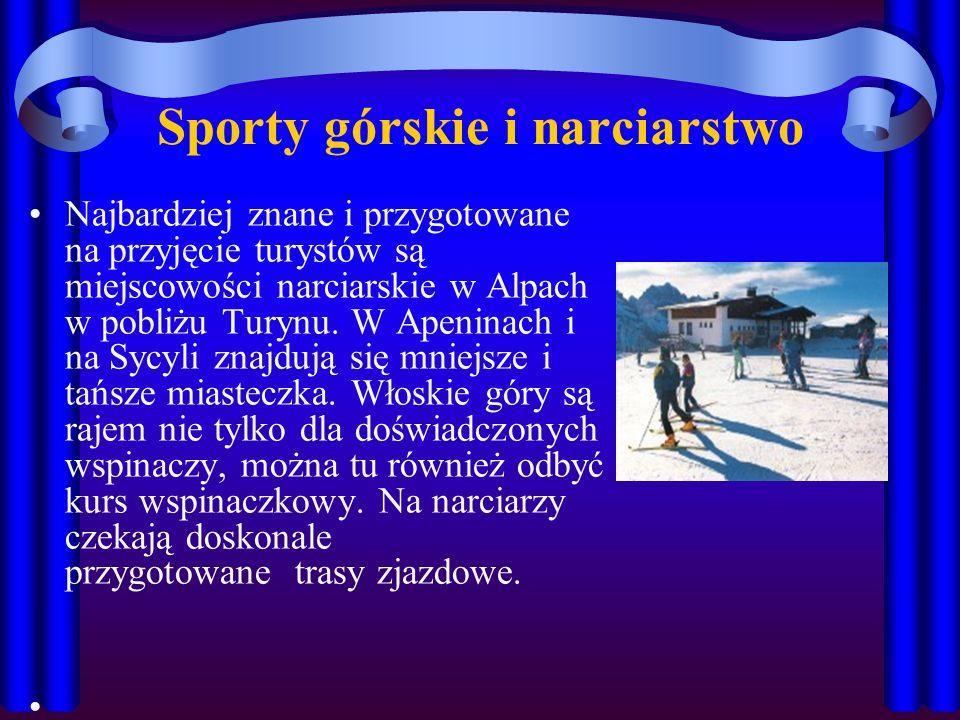 Sporty górskie i narciarstwo