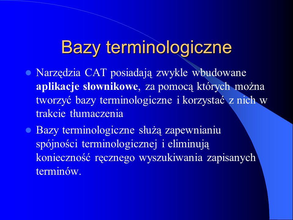 Bazy terminologiczne