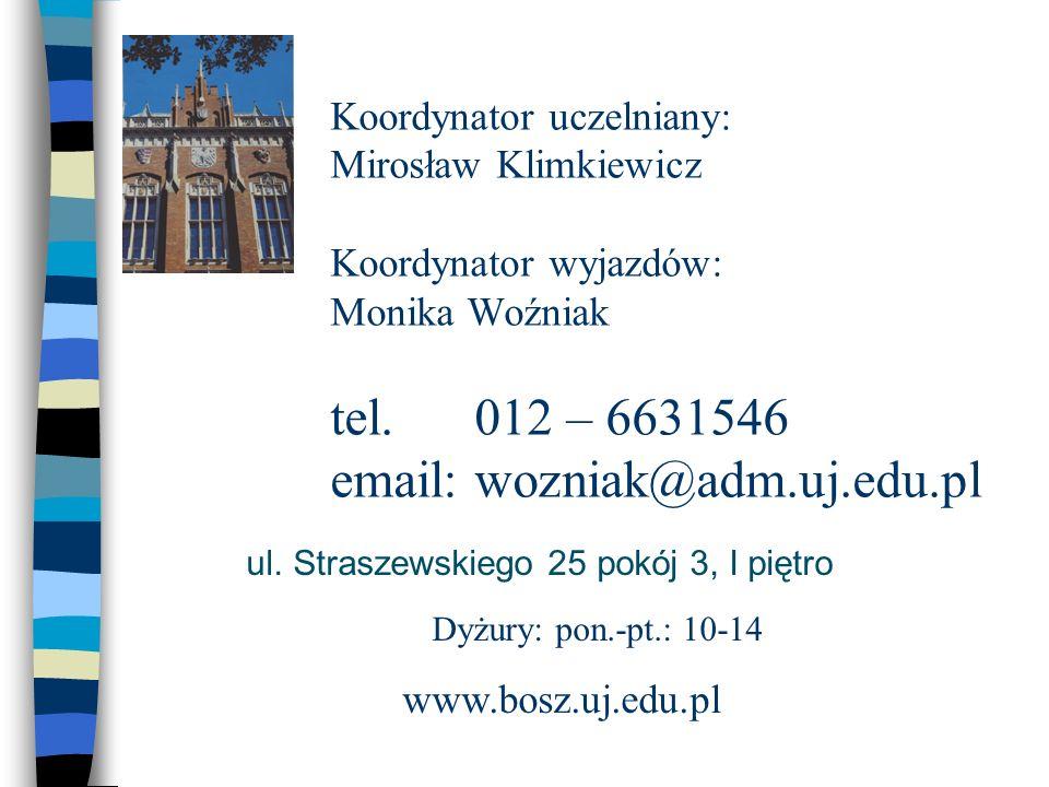 ul. Straszewskiego 25 pokój 3, I piętro