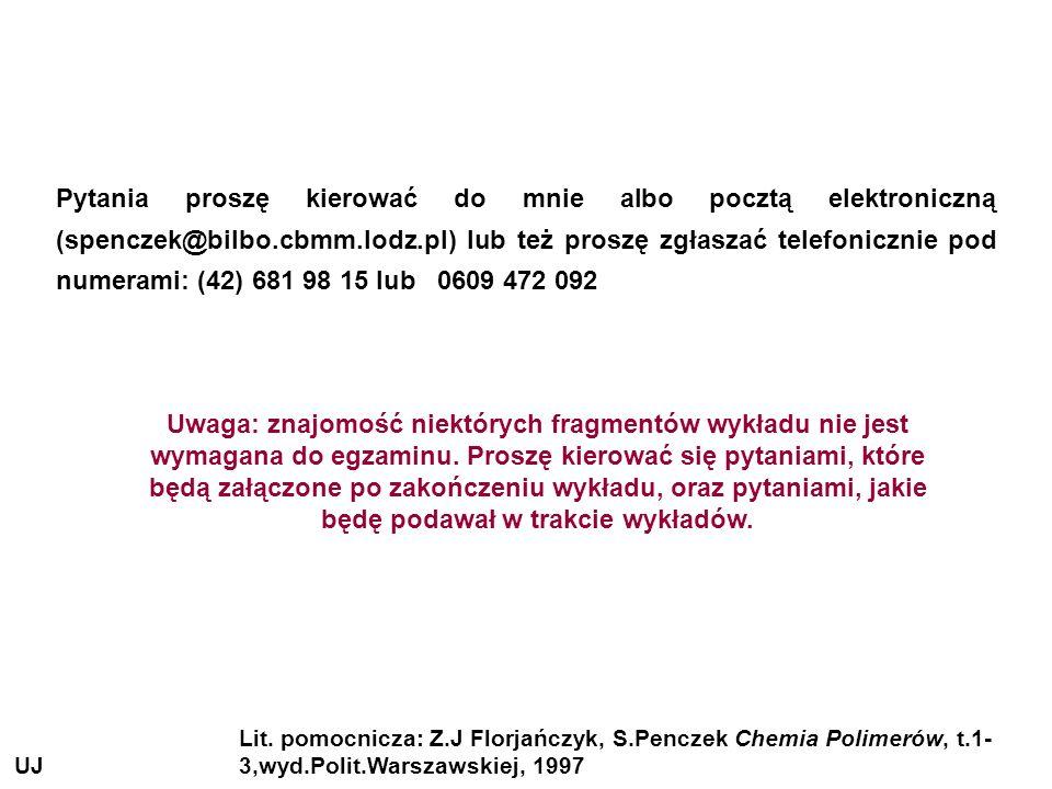 Pytania proszę kierować do mnie albo pocztą elektroniczną (spenczek@bilbo.cbmm.lodz.pl) lub też proszę zgłaszać telefonicznie pod numerami: (42) 681 98 15 lub 0609 472 092