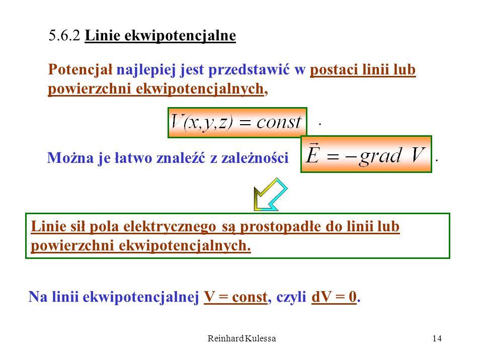 5.6.2 Linie ekwipotencjalne