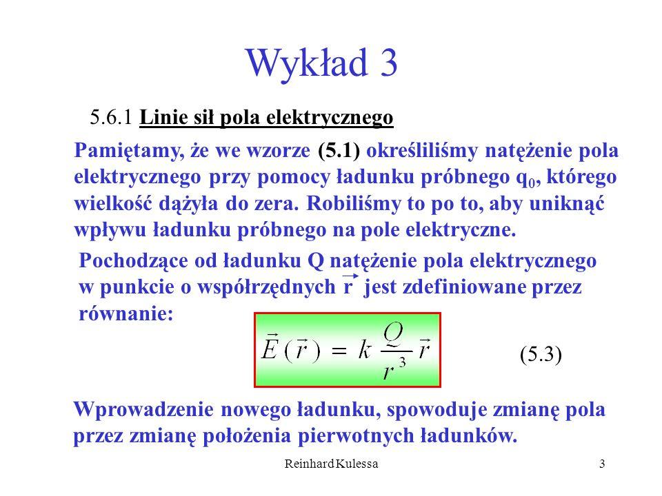 Wykład 3 5.6.1 Linie sił pola elektrycznego
