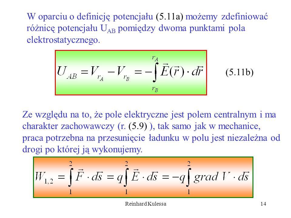 W oparciu o definicję potencjału (5.11a) możemy zdefiniować