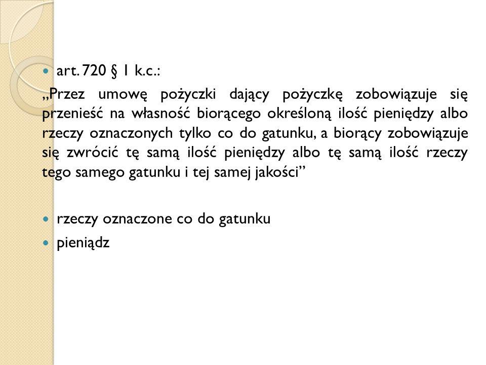 art. 720 § 1 k.c.: