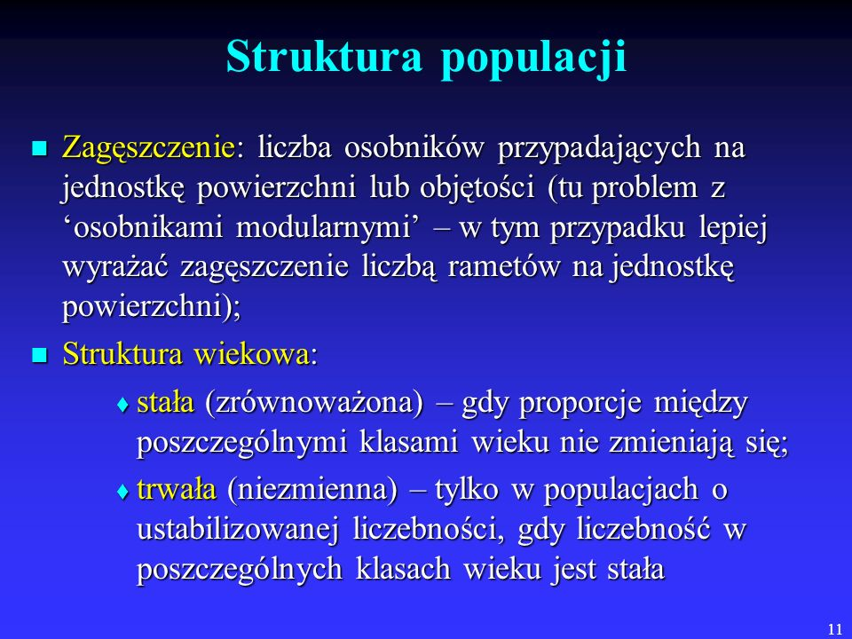Struktura populacji