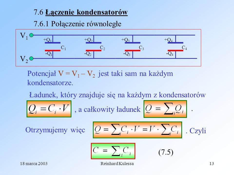 7.6 Łączenie kondensatorów