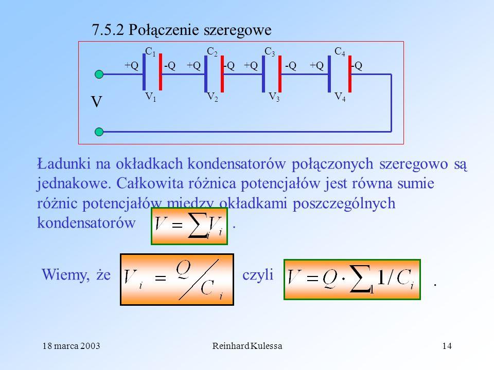 7.5.2 Połączenie szeregowe V