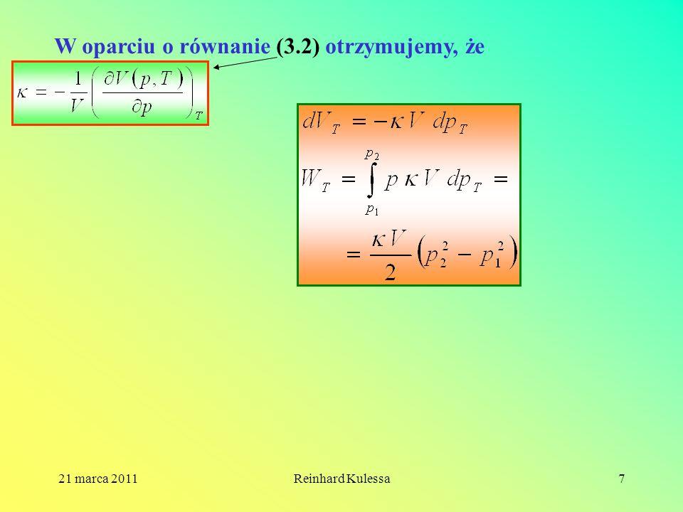 W oparciu o równanie (3.2) otrzymujemy, że