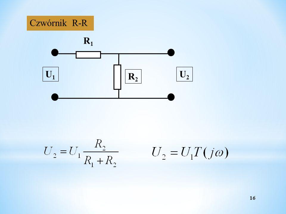 Czwórnik R-R R1 R2 U1 U2