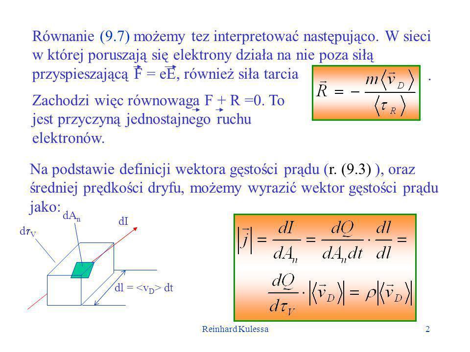 Równanie (9. 7) możemy tez interpretować następująco
