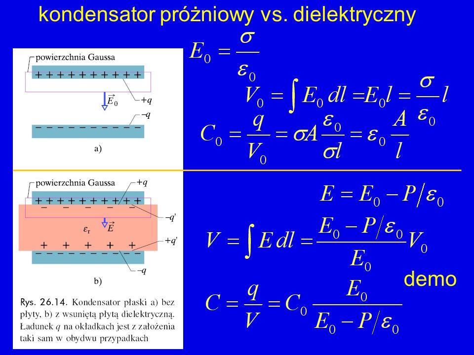 kondensator próżniowy vs. dielektryczny