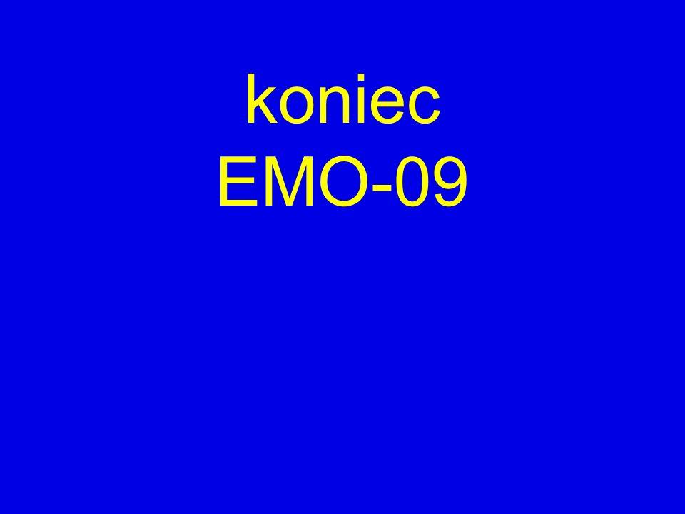 koniec EMO-09