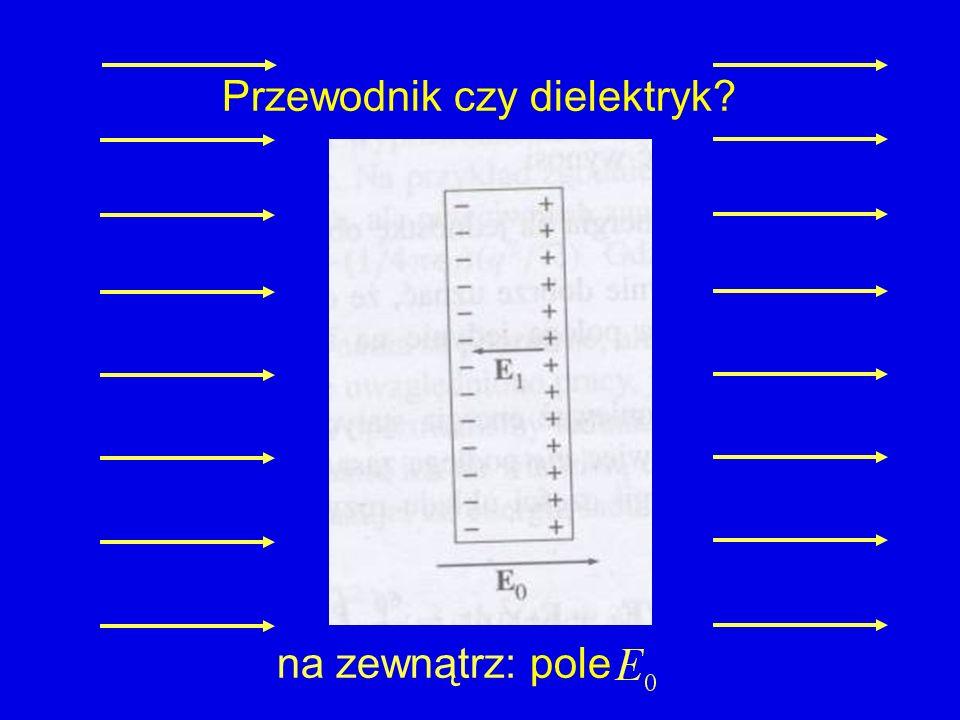 Przewodnik czy dielektryk