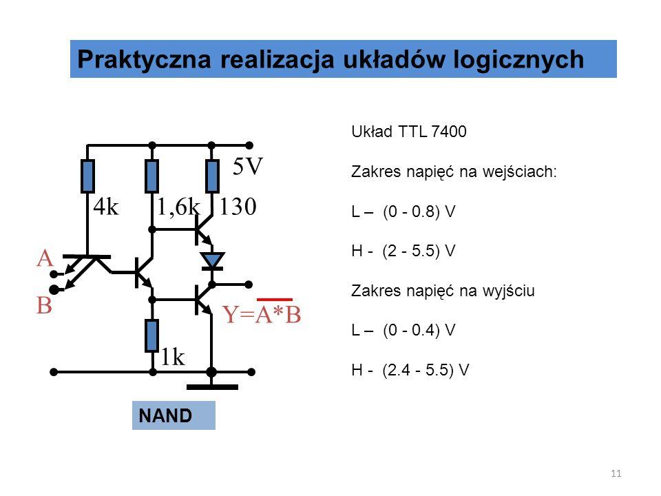 Praktyczna realizacja układów logicznych