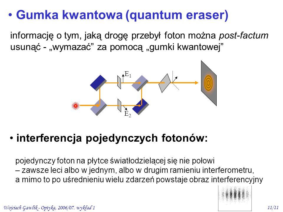 Gumka kwantowa (quantum eraser)