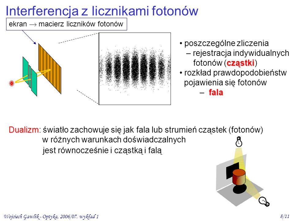 Interferencja z licznikami fotonów