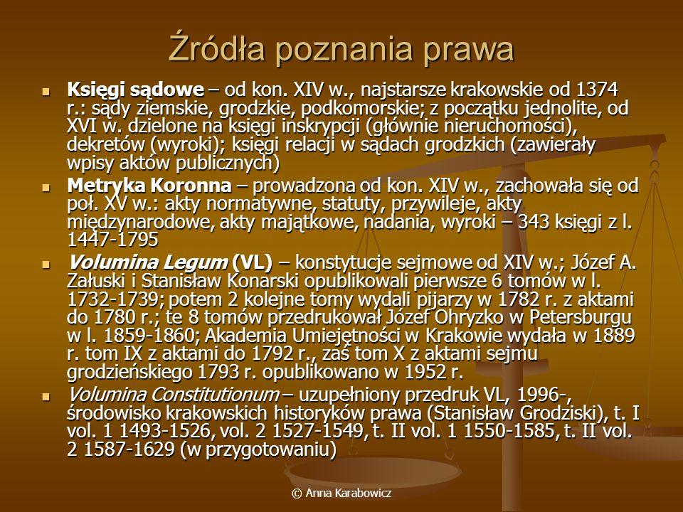 Źródła poznania prawa