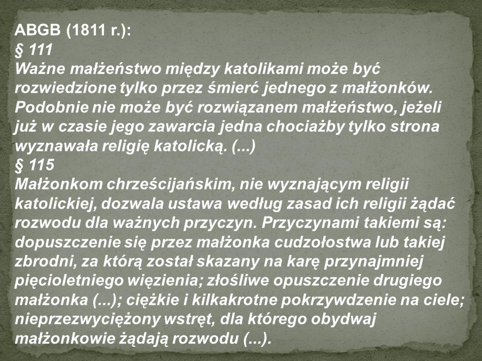 ABGB (1811 r.): § 111.