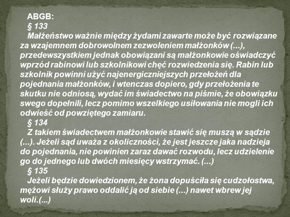 ABGB: § 133.