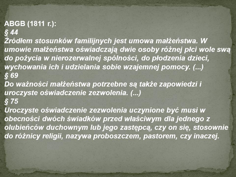 ABGB (1811 r.): § 44.