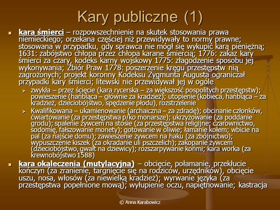 Kary publiczne (1)