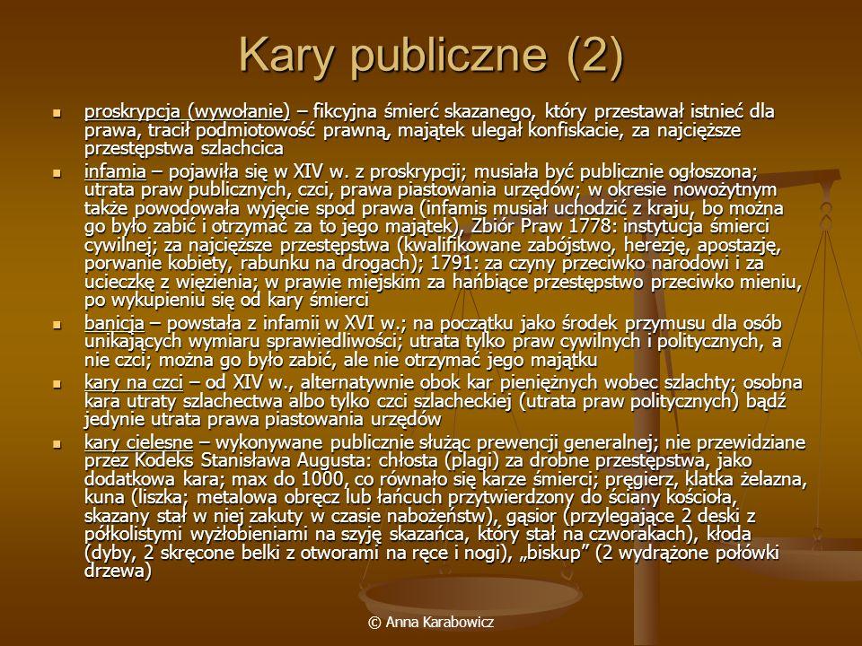 Kary publiczne (2)