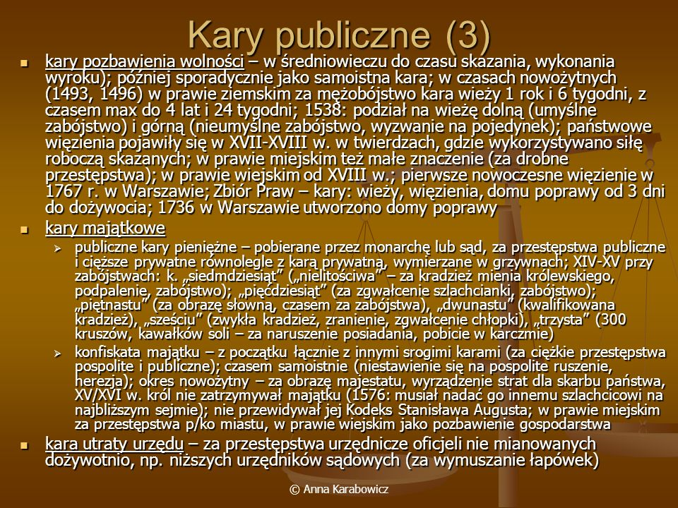 Kary publiczne (3)