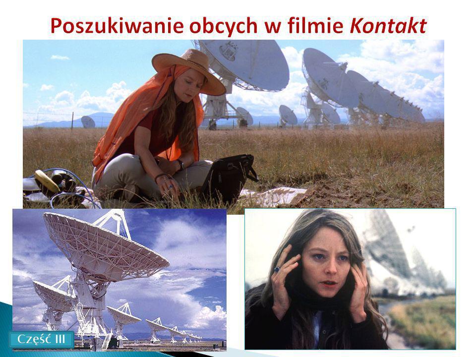 Poszukiwanie obcych w filmie Kontakt