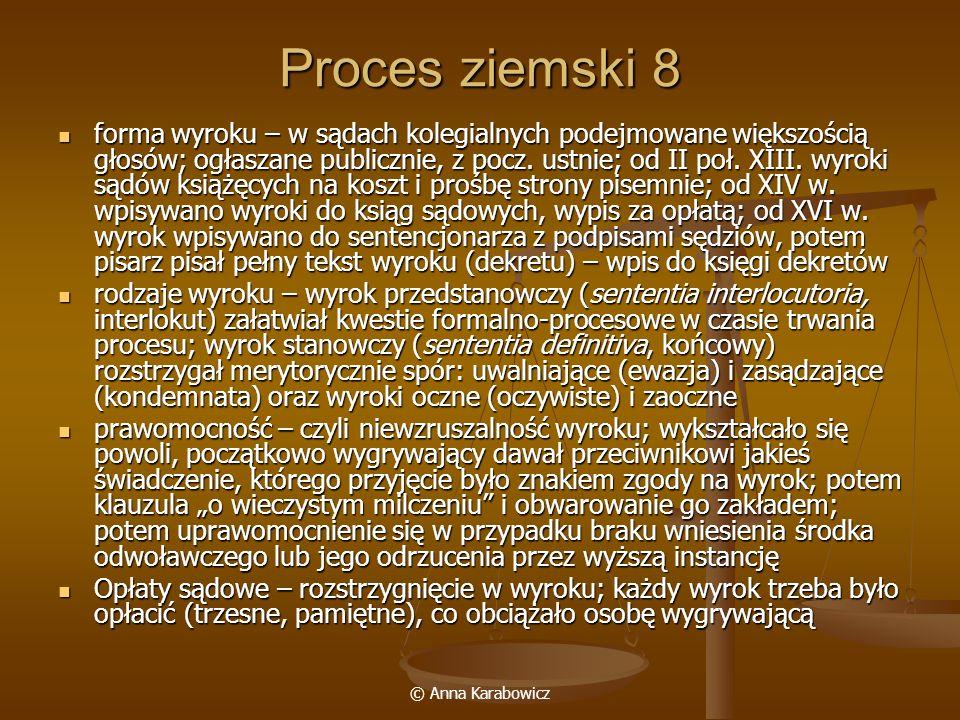 Proces ziemski 8